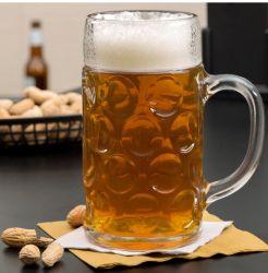 Grande tazza creativa di vetro di birra 1000ml con la maniglia
