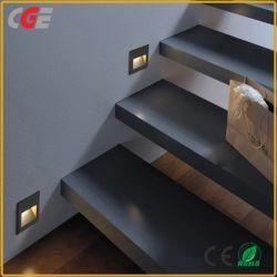 Helle LED Ecklampen-im Freienwand-Licht IP65 der LED-Jobstepp-Plattform-Licht-Messingtreppen-