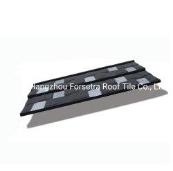 Nouvelle conception de puces de pierre en acier recouvert de feuille de toit Kenya Meilleure vente prix d'usine les tuiles de zinc métal en aluminium