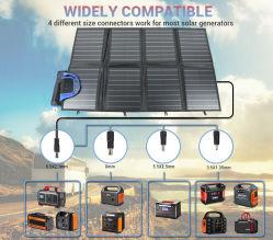 Opvouwbare zonnepaneeloplader van 200 W, opvouwbare zonnetas, zonne-energie Systeem