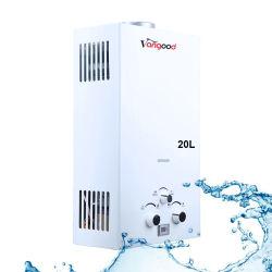 آلة تدفئة المنزل 20L آلة قشر الغلاية الفورية الدش بروبان طبيعي مسخن مياه ساخن للغاز