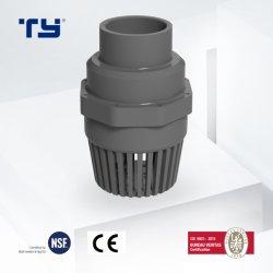 Сертификат UPVC ПВХ пластика CPVC DIN BS ASTM стандартный разъем педали клапан Pn10 (F1970) , БЗК Ex OEM
