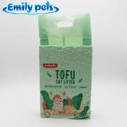 Emily Les animaux de compagnie de la marque d'alimentation en usine le tofu la litière pour chat produit pet