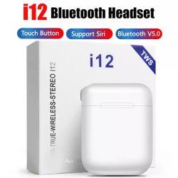I12 Tws Bluetooth Kopfhörer-bewegliche drahtlose Minikopfhörer mit aufladenkasten-mehrfachen Farben-Wahlen