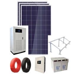 40kw a 50kw a 60kw 80kw 100kw de energía solar personalizada sistema fuera de tipo de rejilla