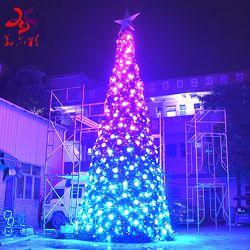 Piscina enorme programa iluminado RGB LED de árvore de Natal