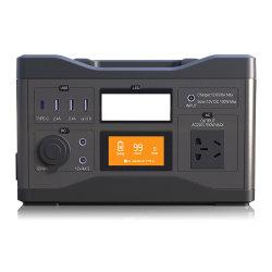 Alimentazione portatile per esterni 220V 500 W con illuminazione a LED Pd Caricabatterie