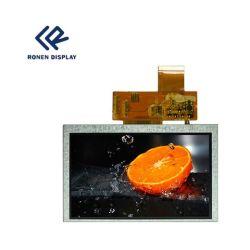 5.0inch TFT LCD 모듈 800X480 POS 전시