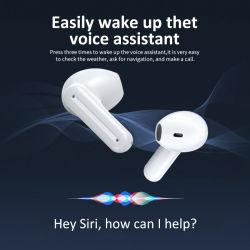 Zutreffendes drahtloses Earbuds – InOhr Bluetooth 5.0 Kopfhörer, dynamischer Fahrer-Hifistereolithographie, ein Jobstepp, der, Geräusch-Beendendes DSP, Tws Kopfhörer zusammenpaßt