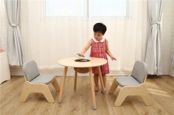 """طاولة لعب للأطفال الصغار ذات الوظائف المتعددة ومقعد مع مساحة تخزين مجموعة أثاث """"بينز كيندرجارتين"""""""