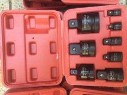 der Auswirkung-6PCS Absinken Cr-MO Kontaktbuchse-Schlüssel-des Adapter-1/4-3/8 schmiedete