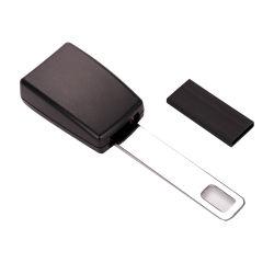 Plástico ABS negro Replacemen Prensa automática de asiento de seguridad del cinturón de seguridad Hebillas Coche de alquiler de