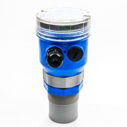 Датчик уровня масла в баке топлива ультразвуковой выход 4-20 Ма локальный дисплей