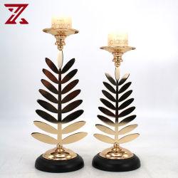 Europese stijl Gouden Kaarsenhouder decoraties voor kerst / huis decoratie /Huwelijken