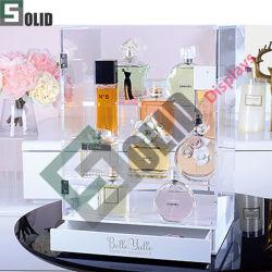 fait sur mesure de faire en acrylique Pop Up Display Stand/Compteur de maquillage cosmétiques Présentoir