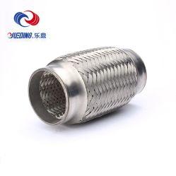 Aço inoxidável Auto Diesel Trançado Duplo Escape tubo flexível 1.5 2 Polegada