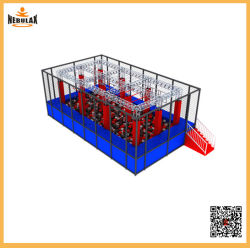 Customized guerreiro ninja obstáculos Golfe brinquedos para crianças e adultos
