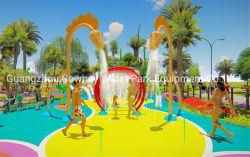 Wasserwasser-Park-Spiel-Spray-Spielplatz-Gerät