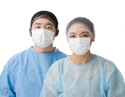Fábrica OEM suprimentos médicos para Nonwoven descartáveis vestido de isolamento