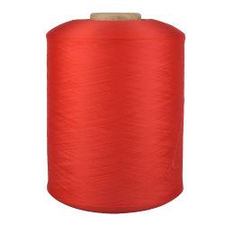 Fil DE POLYESTER léger entremêlé fil de DENTITY texturé de filament 150d/288F plat Fils pour tricoter