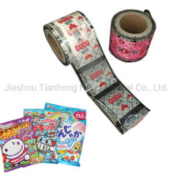 Питание упаковочного материала на основе металлических ламинированной пленки для микросхемы/кофе/Lollipop/конфеты упаковку
