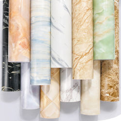Home Decoration를 위한 도매 각자 Glue Marbling Design Wallpaper Roll