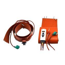고품질 실리콘 고무 드럼 히터 CE 및 온도 조절기 고품질 실리콘 고무 드럼 히터 CE 및 온도 제어장치