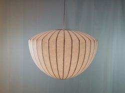 독특한 제품 현대적인 노르딕 샹들리에 설치 거실 천장 실크 코쿤 펜던트 램프