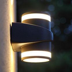 2*8 Вт Светодиодные настенные лампы для сада наружное освещение проект вверх и вниз яркий IP65 1104
