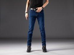 2020 Nuevo llega la moda Strech skinny jeans de mezclilla azul