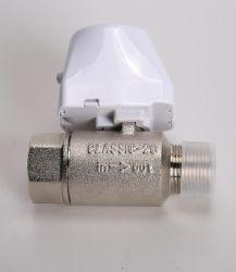 إيقاف تشغيل تلقائي للماء الكهربائي DN20 بوصتان 3/4 بوصة في اتجاهين صمام الكرة الآلي للصمام