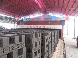 Neuer Entwurfs-Lehm-Ziegelstein-Tunnel-Brennofen für rote Ziegeleimaschine