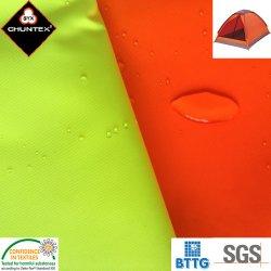 Tessuto impermeabile rivestito della tenda di campeggio dell'unità di elaborazione 300d Ripstop Poliester Oxford