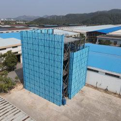 건축 보호 안정적인 강철 벽 부착 금속 전기 등반 서딩 시스템