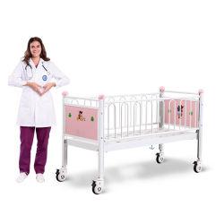 Base registrabile dei bambini dell'ospedale di Cr0q con le rotelle