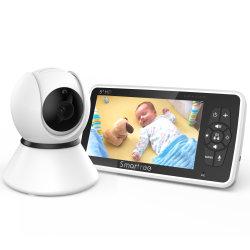 5'' высокой решение, 720p HD камеры малыша 40000mAh 2-канальный аудио устройство контроля температуры колыбельных, Vava Pan-Til, детская оптика
