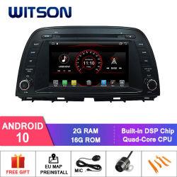 Witson Quad-Core Android 10 Alquiler de DVD GPS para el Mazda CX-5 Salida de vídeo completo