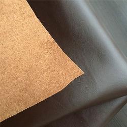 El 55% de vaca, el contenido de fibra recubierta con piel sintética PU para asiento tapizado sofá pelota de golf Bolsa zapatos