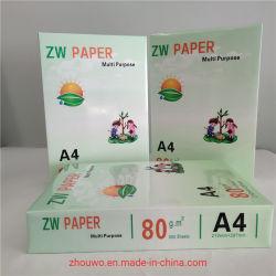 Fabrieksprijs A3A4 kopieerpapier 75 GSM 80 G/M2 hoogste Super Witheid voor kantoor- en schoolbenodigdheden