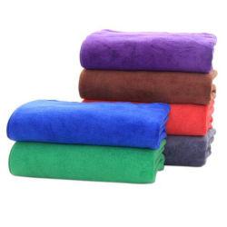 70*140 Toalla fibra puede ser Logotipo personalizado hogar Salón de Belleza Toalla, toallas de lavado de automóviles
