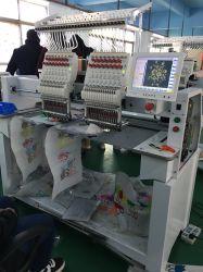 L'Amérique Cap/Tshirt/Tubular/chaussures/2 tête haute vitesse industrielle TAJIMA Embroidery Machine