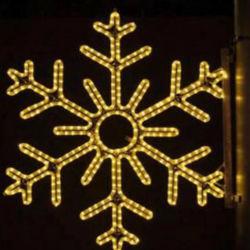 3m 30 LED flocon de neige LED à piles AA Motif Chaîne de lumière pour la décoration de Noël