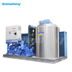 Snowkey China Top 1 Compact Design Flake Ice machine (1t/dag-60t/dag) op het land