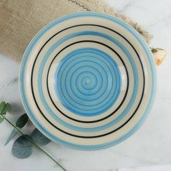 Restaurante de la placa de cerámica de gres porcelánico de la cena platos en stock