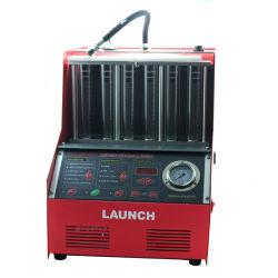 100% Origninal запуска ЧПУ с 6 цилиндрами602A Ультразвуковой тестер для очистки форсунок топлива на английском языке панели бесплатная доставка
