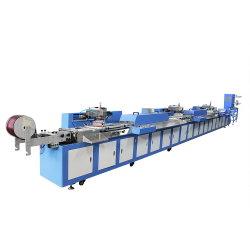 Многоцветные рулона в рулон Label Автоматическая шелк трафаретная печать машины