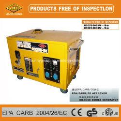 Generatore della benzina di serie di silenzio di marca di Jd con approvazione di EPA