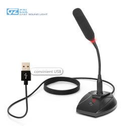 Sobremesa/portátil PC USB Micrófono con cable de cuello de cisne