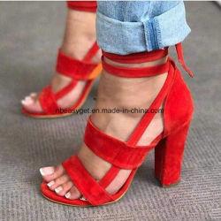 أحذية النساء المصطنعة المهتزة اللباس Esg10578