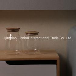 Botella de vidrio de almacenamiento sólido hogar Jar para la venta caliente